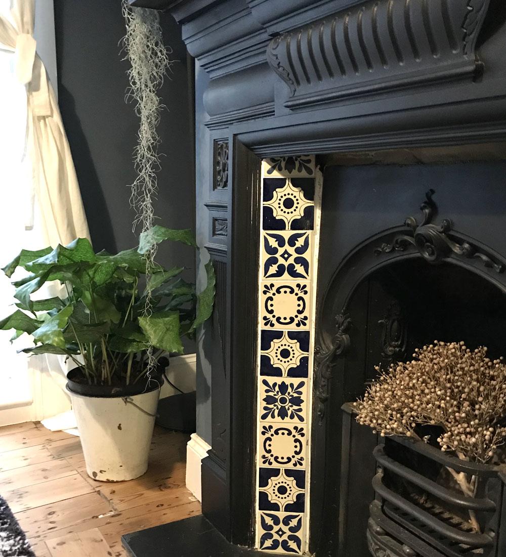 Design Storeys fireplace close up