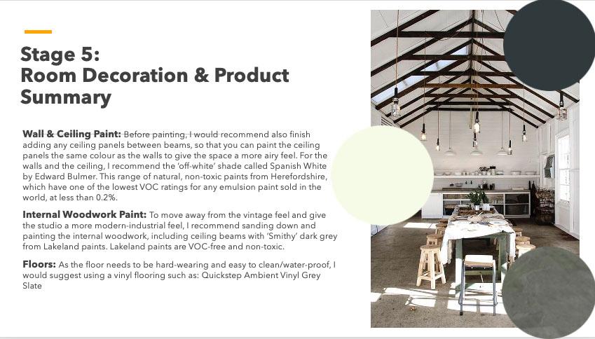Design Storeys Cressfield Design Summary