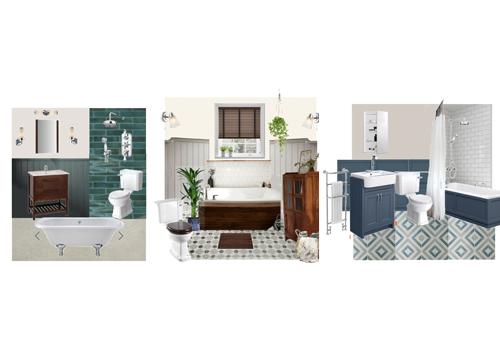 Albany Road bathrooms, Design Storeys